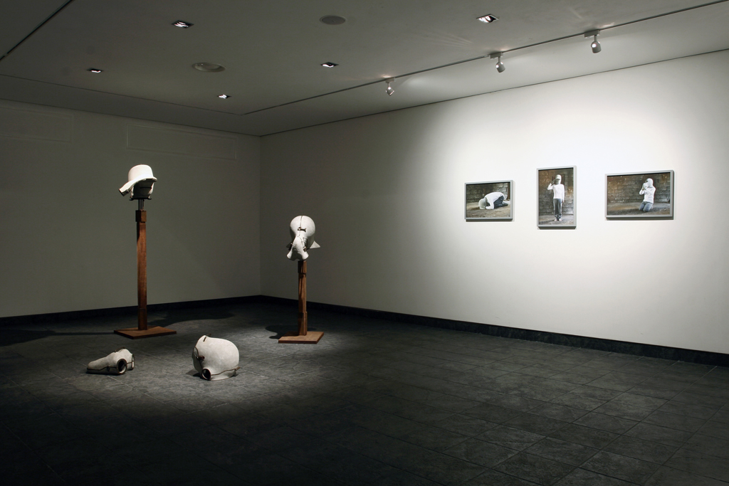 78_Confined One Series Installation view 2010